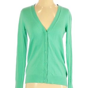 Gap Outlet | solid green button up cardigan